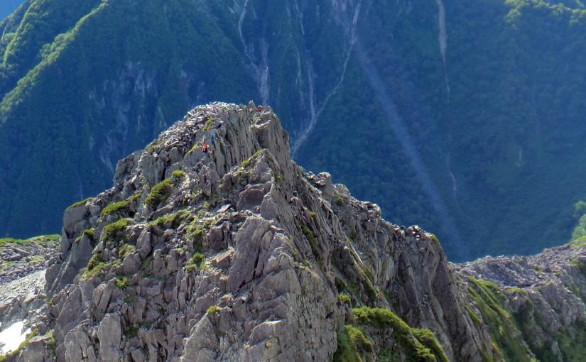 北穂高岳 東稜