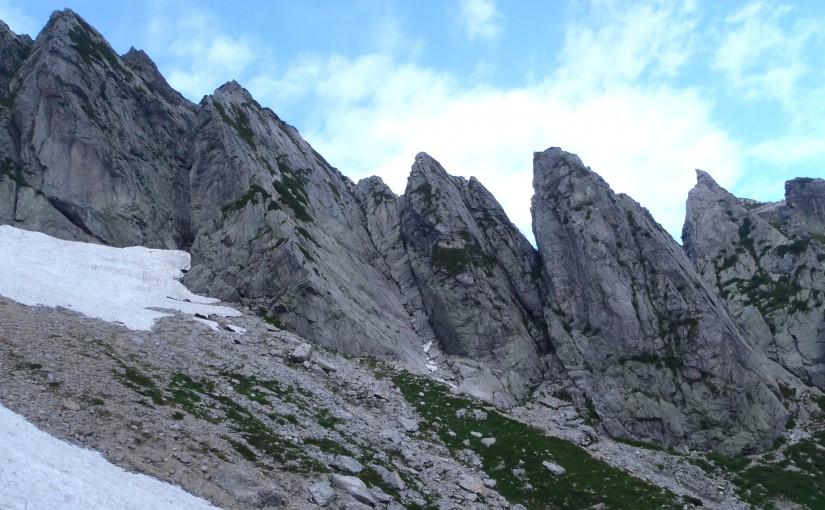 八つ峰Cフェース剣稜会ルート