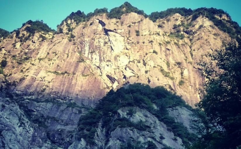 穂高継続登攀