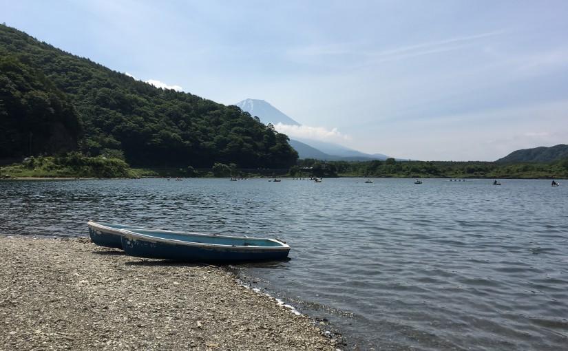 6/11 御坂山地走り(精進湖〜河口湖)