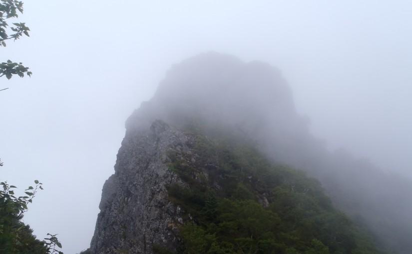 9/3 八ヶ岳天狗尾根