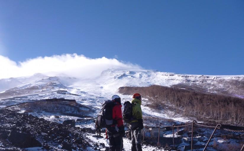 12/17-18 雪訓(富士山)