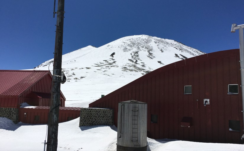 4/23 乗鞍岳山スキー