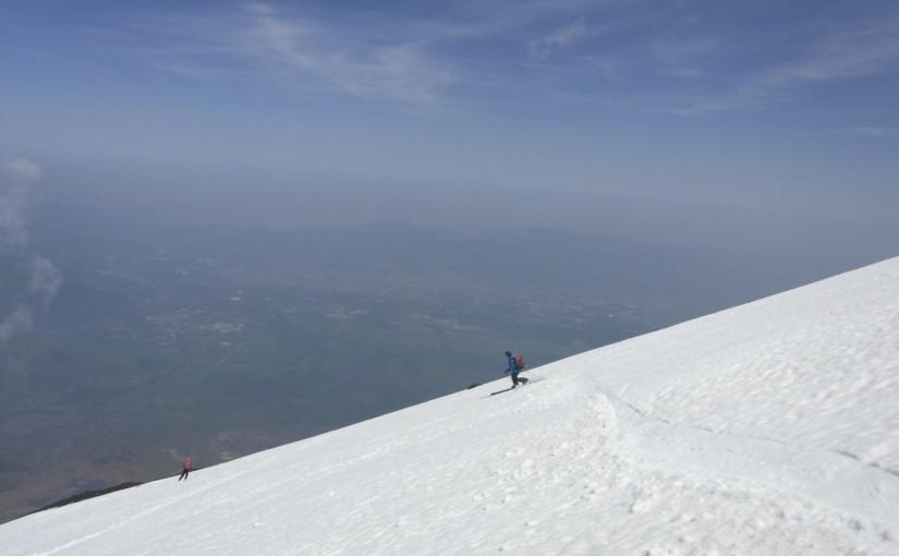5/21 富士山スキー