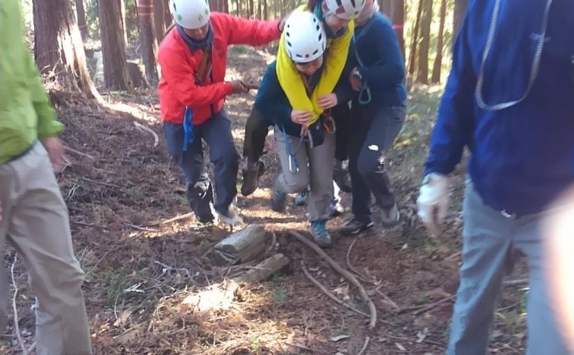 11/25-26 遭難対策訓練in丹沢・どんぐり山荘