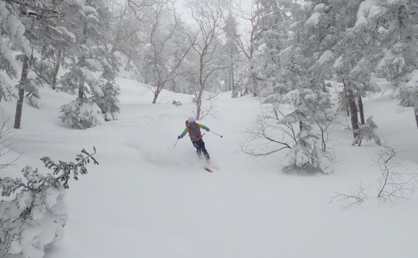 1/6-7 四ツ岳・弓折岳スキー
