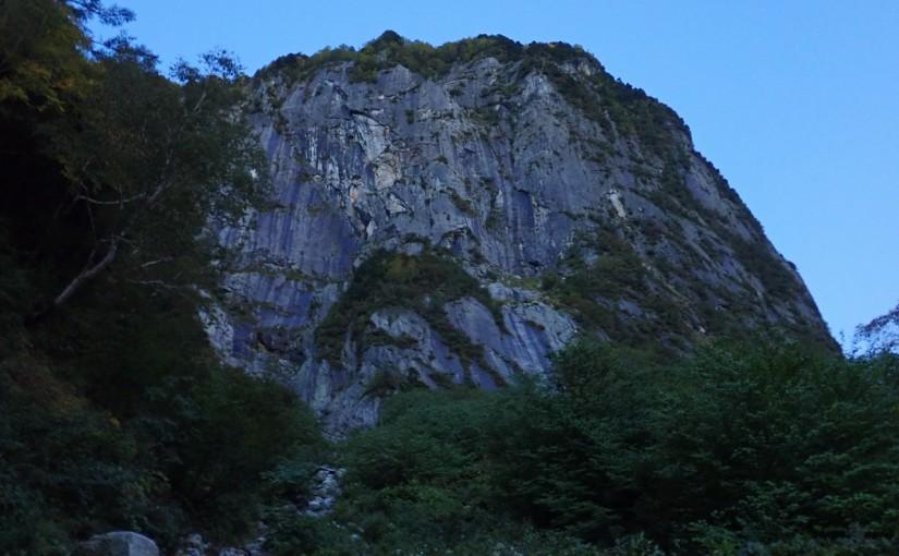 9/22-24 屏風岩東壁雲稜ルート