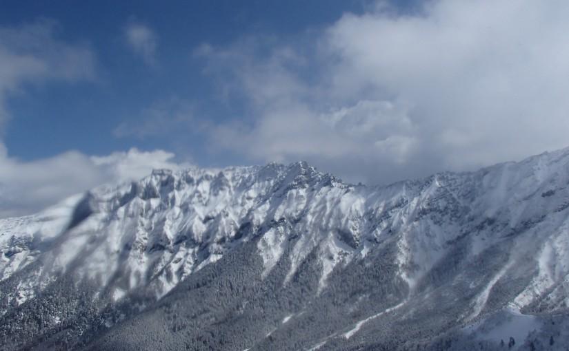 2019年3月16日 阿弥陀岳北西稜 アルパインクライミング