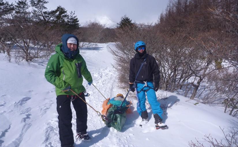 2020年2月29日-3月1日 深雪訓練,安達太良にて!
