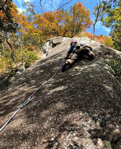 2020/11/22 湯河原幕岩フリークライミング
