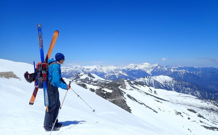 2021/4/10 乗鞍岳 BCスキー
